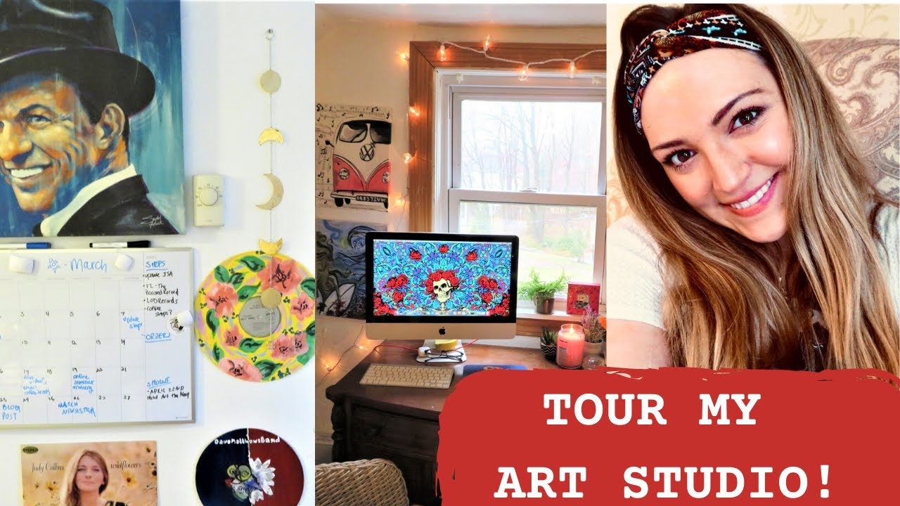 Art Studio Tour - My Small Creative Space