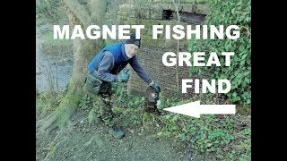Great find magnet fishing