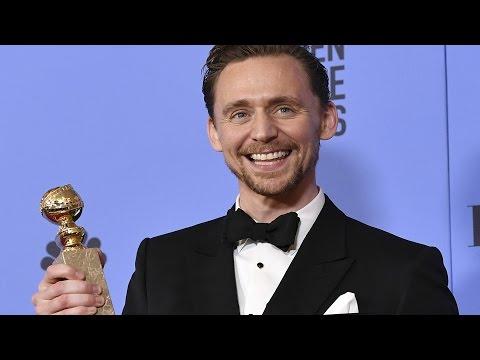 Tom Hiddleston - Golden Globes 2017 - Full Backstage Interview