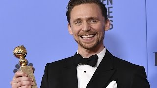 Tom Hiddleston - Golden Globes 2017 - Full Backstage Interview