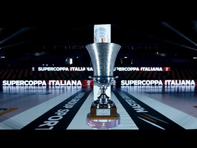 Backstage Supercoppa Italiana 2021 - PalaPanini Modena