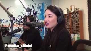Тамаша Орманбаева. Интервью на радио Астана. Хочу в ВиаГру.
