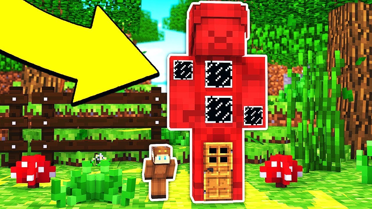 HOW TO LIVE INSIDE RED STEVE IN MINECRAFT  YouTube