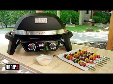 Brochetas de verduras en barbacoa - Weber
