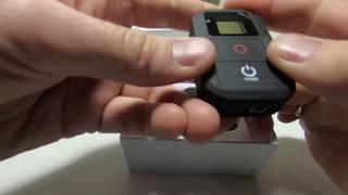 пультр для GoPro hero 6 с Aliexpress распаковка, обзор, подключение, читайте описание
