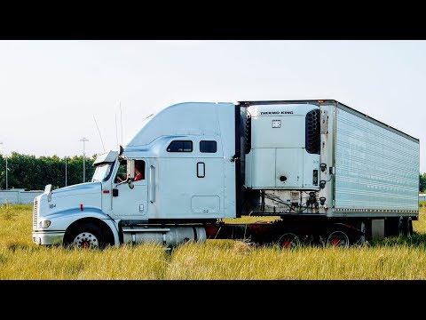 Американский грузовик изнутри. Обзор INTERNATIONAL 9200 EAGLE / НЕ ОФФРОАД!