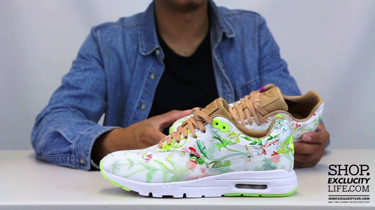 reputable site 50% price more photos Women's Air Max 1 Ultra x Liberty Unboxing Video at Exclucity