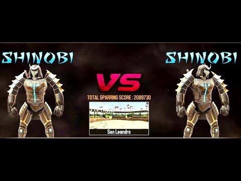 REAL STEEL SHINOBI VS SHINOBI New Robots UPDATE (Живая сталь)