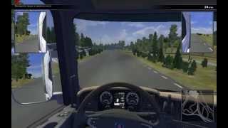 Scania Truck Driving Simulator #1 Испытательный полигон
