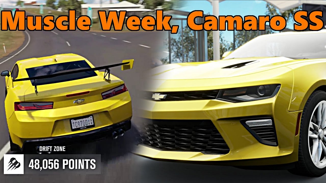 Forza Horizon Muscle Car Drift Week Part New Camaro Ss