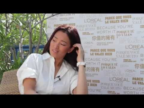 Gong Li Inteview  Cannes 2011