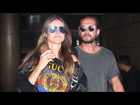 Heidi Klum And Rocker Tom Kaulitz Return From Steamy Cabo Getaway