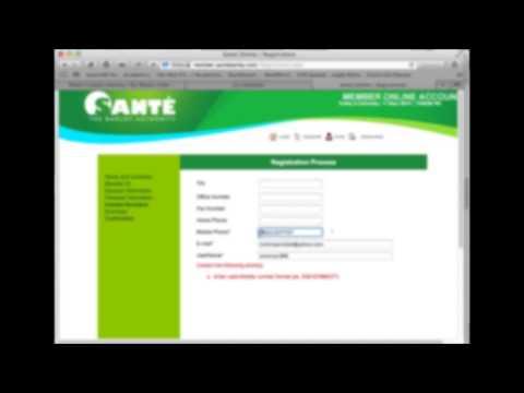 How To Register New Member in Sante Barley