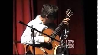 Aldo Rodríguez Delgado. Vals Op. 8 #3 (Mangoré)