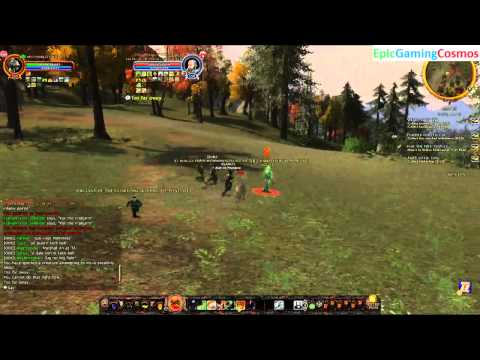 Captain VS Warg Stalker In A PVMP Battle In The Lord Of The Rings Online Helm's Deep Update 16
