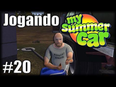 Jogando My Summer Car - Ep 20 - Tirando Esgoto e NEED FOR SPEED CAMINHONEIRO!