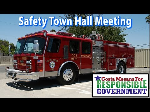 Safety Town Hall Meeting