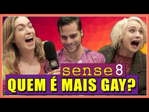 SENSE8 CHRISTMAS SPECIAL ft. Jamie Clayton and Tuppence Middleton Nomi and Riley  HOW GAY YOU ARE