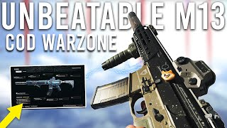 Using the UNBEATABLE M13 in COD Warzone...