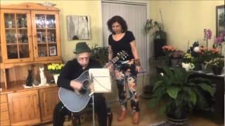 Fereidoon Foroughi : Dota chashme sia dari (cover by Sissy and Masoud)