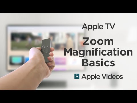 Apple TV Zoom Magnification Basics - Apple Accessibility