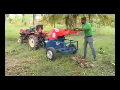 Mini Tractor Operated Shredder by Kovai Engineering Works Private Limited, Coimbatore