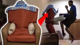 HOW TO DO HUMAN CHAIR PRANK! featuring UCMAGIC - HOW TO PRANK