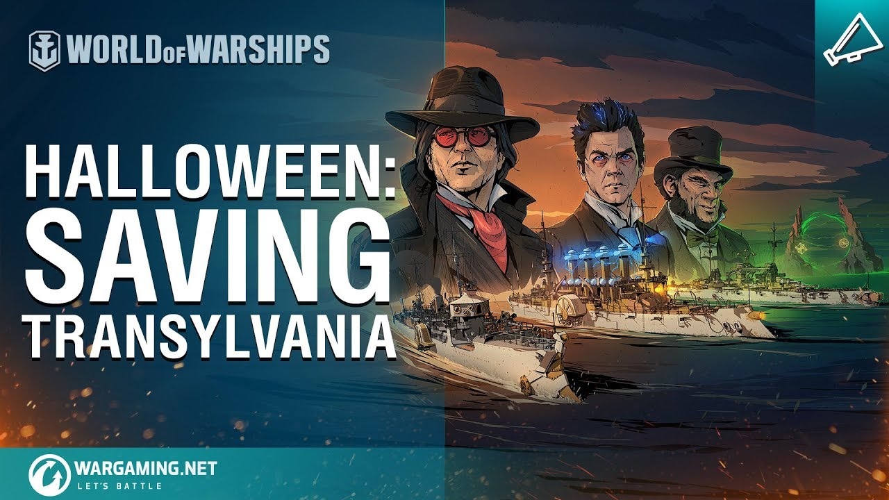 Halloween 2020 World Of Warships Yuro World of Warships   Halloween Event Part I: Save Transylvania