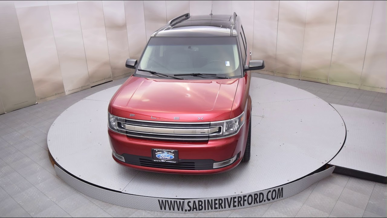 2015 ruby red ford flex 4d sport utility t6599a youtube. Black Bedroom Furniture Sets. Home Design Ideas