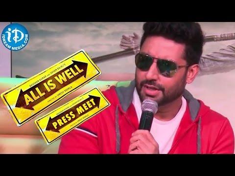 All IS Well Movie Team Press Meet - Abhishek Bachchan | Umesh Shukla