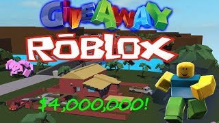Annonce du gagnant de giveaway ! Lumber Tycoon Roblox !