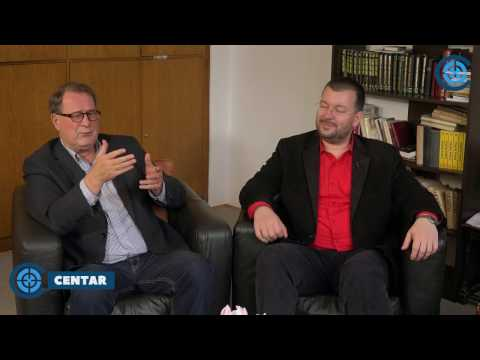 U CENTAR: Boško Jakšić i dr Čedomir Antić - Vučić je direktni produkt Zapada