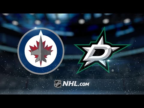 Laine scores twice in Jets' 5-3 win against Stars