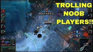 GETTING SHUT DOWN LIKE A BOSS! - League of Legends funny moments