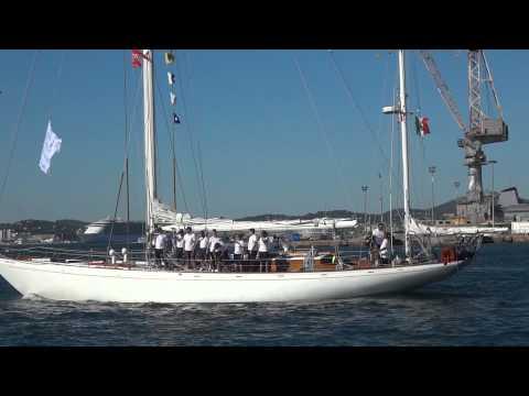 départ des grands voiliers de la Tall Ships Regatta 5/11