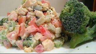 Кулинария с Лизой - Салат Праздничный