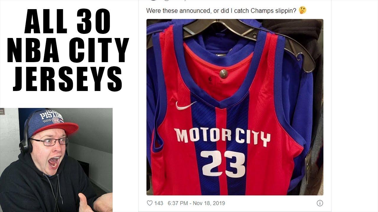 Reacting To All 30 Nba City Jerseys