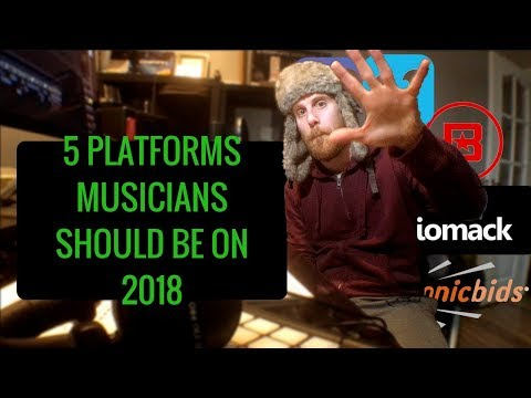 Places to Promote Your Music - 5 platforms musicians should be on in 2018