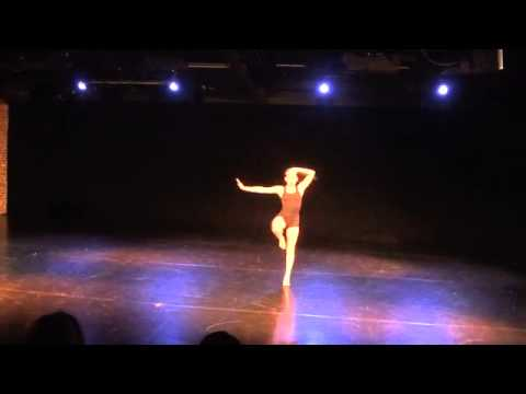 'Flickers' contemporary dance solo choreographed by Francisco Gella