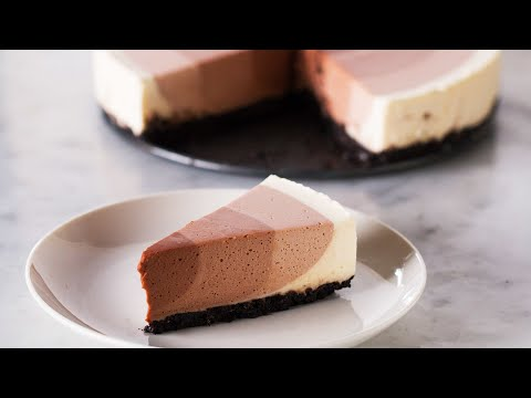 Download Youtube: Chocolate Ripple Cheesecake