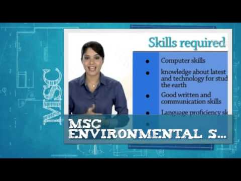 MSc Environmental Science Distance Education in India