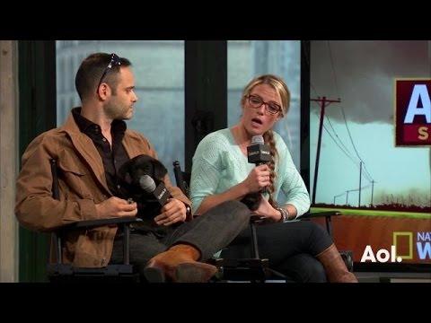 "Karissa Hadden and Dustin Feldman On ""Animal Storm Squad"" | AOL BUILD"