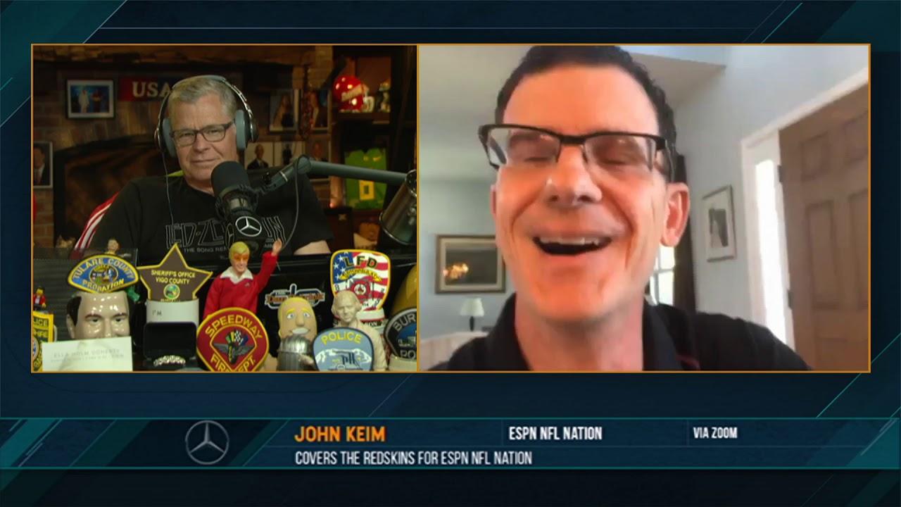 John Keim on the Dan Patrick Show (Full Interview) 07/13/20