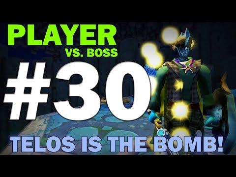 Player Vs. Boss   Episode 30 [TELOS IS THE BOMB!] Runescape 3 Gameplay Walkthrough