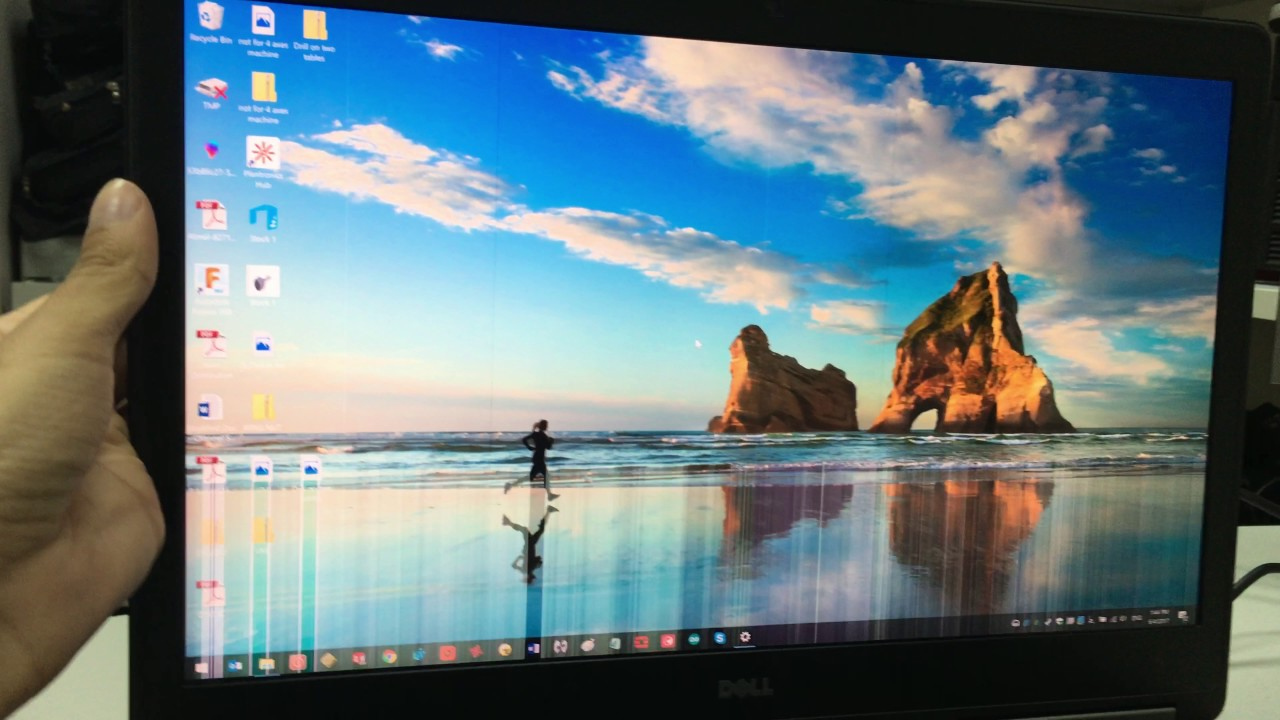 Dell Precision 7710 Display problem - Update: Dell warranty replaced the  monitor