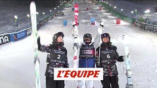 Laffont titrée en bosse parallèles - Ski freestyle - ChM (F)