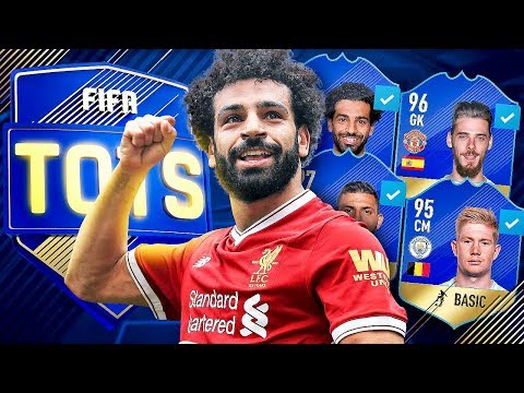 PREMIER LEAGUE TEAM OF THE SEASON PREDICTION!! - FIFA 18 ULTIMATE TEAM