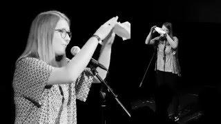Vorjahressiegerin Sophia Krayc beim KuK Poetry Slam 2015 im CCW Stainach