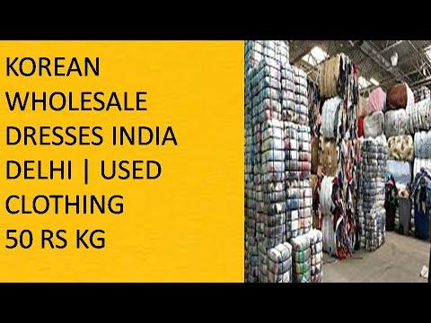 # 275  KOREAN WHOLESALE DRESSES INDIA DELHI   USED CLOTHING