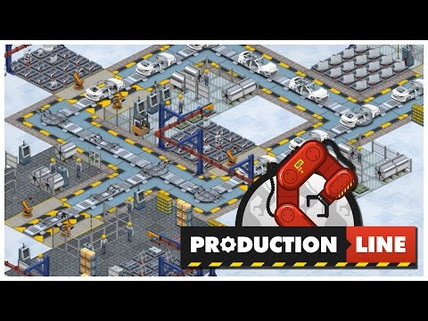 Production Line [Alpha] - Let's Play / Gameplay / Preview